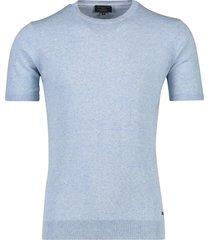 t-shirt lichtblauw gemeleerd cavallaro ascanio