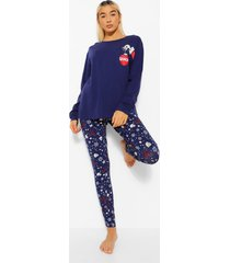 the grinch kerst pyjama set met lange mouwen