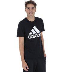 camiseta adidas mh bos tee - masculina - preto