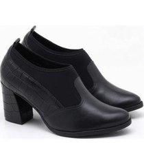 ankle boot comfortflex vi feminino