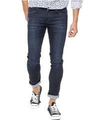 jean azul wrangler slim fit