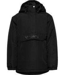 hmlcozy jacket parka-jas zwart hummel