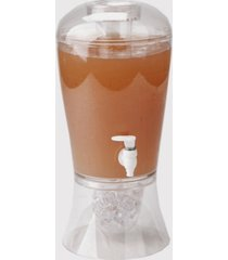 mind reader beverage dispenser with fruit infuser and ice cone