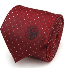 game of thrones targaryen dragon sigil men's tie