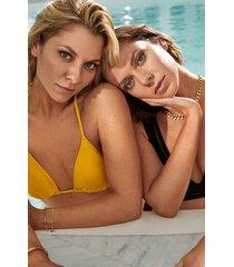hunkemöller napa triangel-bikiniöverdel gul