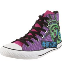 zapatilla violeta converse chuck taylor all star liberty