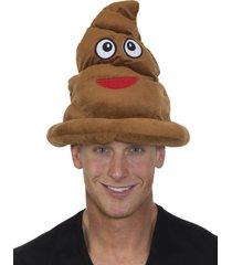 27929 brown smiling pile of poop hat