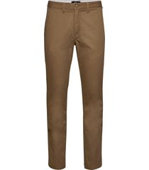 authentic chino stretch chinos byxor brun vans