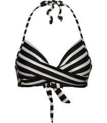 aaliyah shine top bikinitop svart missya