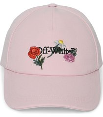 embroidered canvas cap