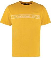a.p.c. rue madame cotton t-shirt