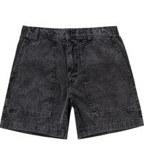 men's rvca men's all time topango corduroy shorts, size medium - grey