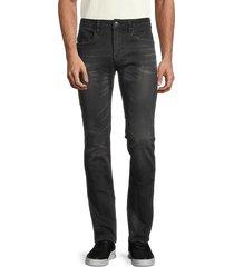 buffalo david bitton men's max-x skinny-fit stretch jeans - black - size 32 34
