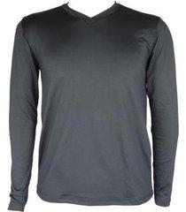 camisa térmica masculina segunda pele v thermo premium