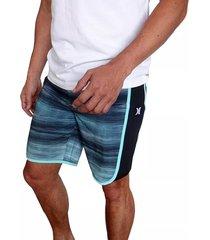 pantaloneta hurley phantom motion fast bdst in para hombre - azul