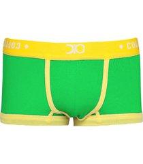 cueca sunga/sungã£o mini boxer tendence dionisio collection brasil verde - verde - masculino - algodã£o - dafiti