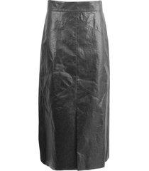 isabel marant black maxi skirt