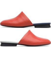 camper twins, sandalias mujer, rojo , talla 41 (eu), k201101-002