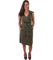 jurk vero moda 10211944 vmbella sl waistcoat ivy green
