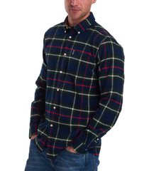 barbour men's classic-fit highland check shirt