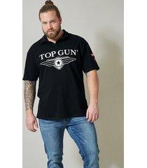 tröja med krage top gun svart