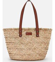 kurt geiger london women's kensington basket shopper - multi/other