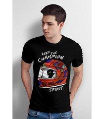camiseta base nobre champion t- shirt masculina - masculino