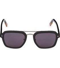 64mm aviator sunglasses