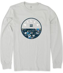 billabong men's rotor logo graphic t-shirt