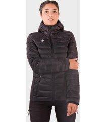 chaqueta montafon de plumas para mujer negro izas outdoor