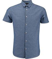 overhemd classic blauw