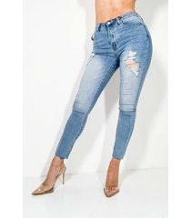 akira galaxy high waisted skinny jeans