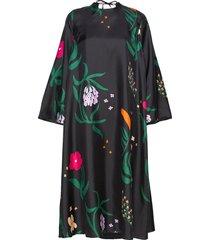 jyly herbaario dress knälång klänning svart marimekko
