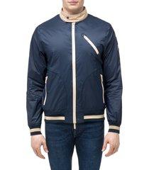 men's nobis mateo bomber jacket, size x-small - blue