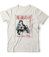 camiseta demon slayer - unissex