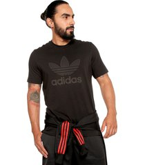 camiseta negra adidas originals warm up