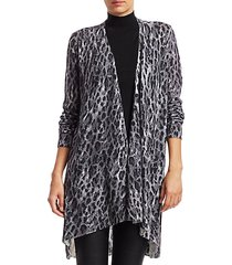collection leopard-print cashmere cardigan