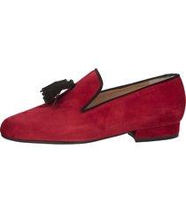 skor gennia röd::svart