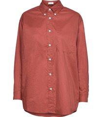 krimcity långärmad skjorta röd american vintage