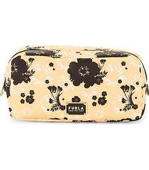 mini floral cosmetic case