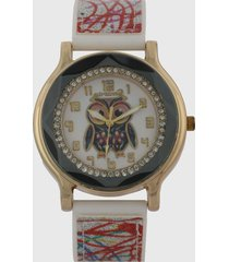 reloj dorado-multicolor virox