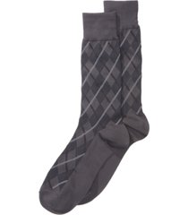 perry ellis men's printed dress socks