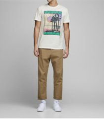 jack & jones men's cotton graphic short sleeve crew neck t-shirt