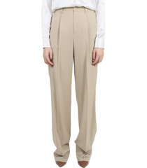 ralph lauren beige winnifred trousers