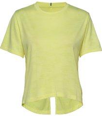q speed jacquard t-shirts & tops short-sleeved gul new balance