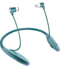 audifonos inalámbricos bluetooth deportivo h7 con micrófono - azul