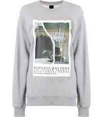 romance was born the golden promise #1 sweatshirt - grey