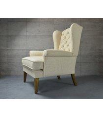 fotel cortina - klasyczny, uszak