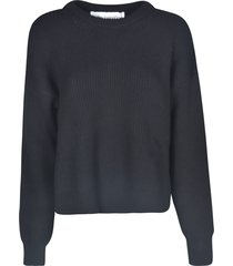 paco rabanne oversized woven sweater