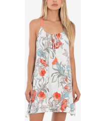 linea donatella tropical-print chemise nightgown